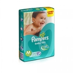 Pampers Medium Size Diapers Jumbo
