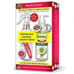 PaxClean Triple Active Disinfectant Sanitizer Cleaner Spray