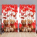 Phyto Home 213 cm (7 ft) Polyester Door Curtain (Pack Of 2)