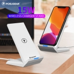 Posugear 15W Wireless Charger Phone Stand Desk