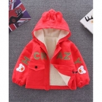 Awabox Bear Patch Full Sleeves Hooded Jacket