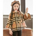 Awabox Full Sleeves Checkered Overcoat – Brown