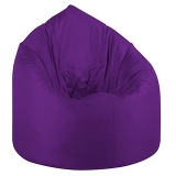 UK Bean Bags Classic Bean Bag Cover Purple Size L