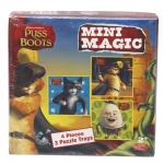 Puss in Boots Mini Magic Puzzle Trays