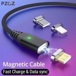 Magnetic Cable Micro usb Type C Fast Charging