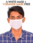 Only at Rs. 126 Re-usable, Washable, 100% Pure Cotton Mask