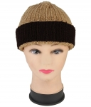 Renzer Beige color  Wool Caps for women