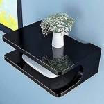 Only at Rs. 360 Setup Box STAND Wooden Wall Shelf