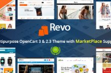 Revo – Drag & Drop Multipurpose OpenCart Theme