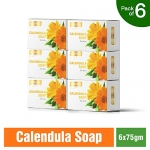 Richfeel Anti Acne Soap with Calendula Extracts (Pack of 6)