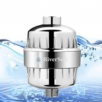 RIVERSOFT PRO ABS shower and tap filter for hard water