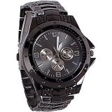 Rosra Mens Black Collection analog watch SPORTS ONLINE