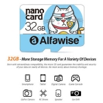 Alfawise 32GB High Speed High Capacity Micro SD Card – MULTI LIGHT BLUE 32GB