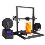 ZONESTAR Z10M2 Mixed Color Fast Assemble Large Size Dual Extruder 3d Pritner – BLACK US
