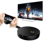 1080P Wireless Display Mirroring Support Google / Netflix / HDMI – BLACK