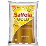 Only at Rs. 134 Saffola Gold, Edible Oil, Pouch, 1 L