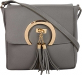 SAHAL  Grey Women Zipper Sling Bag