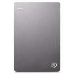 Seagate 1TB Backup Plus Slim (White) USB 3.0 External Hard Drive for PC/Mac with 2 Months Free Adobe Photography Plan
