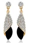 18k Gold Plated Crystal Stylish Fancy Party Wear Earrings
