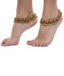Shining Diva Gold Plated Anklets for Women