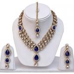 Shining Diva Kundan Traditional Necklace Jewellery Set