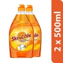Skrubble High Action Dish Wash Liquid – 500 ml (Pack of 2)