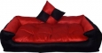 SLATTERS BE ROYAL STORE  Pet Bed  (Red)