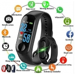 Smart Band Fitness Tracker Watch Heart Rate