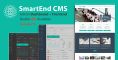 SmartEnd CMS – Laravel Admin Dashboard with Frontend and Restful API