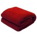SNS Maroon Abstract Single Bed Fleece Blanket (240 cm x 150 cm) – Set Of 1