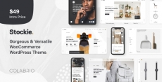 Stockie – Multi-purpose Creative WooCommerce Theme