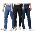 Stylox Combo 3 Stretchable men's Jeans