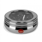 Sumeet Stainless Steel Belly Shape Spice Box