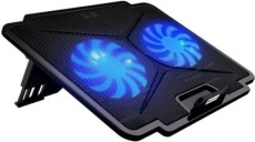 Tarkan Dual Fan Cooling Pad, USB cable included