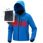 TENGOO USB Electric Heated Coats Intelligent Down Jacket