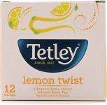 Tetley Lemon Twist Lemon Instant Tea Bags