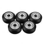 3D Printer Part POM Material Big Pulley Wheel with Bearings