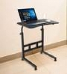 Thar Adjustable Laptop Table in Black Colour