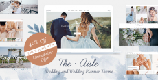 The Aisle – Elegant Wedding Theme