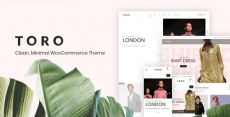 Toro – Clean, Minimal WooCommerce Theme