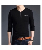 Try This Black Full Sleeve T-Shirt