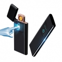 Ultra-thin Lighter Fingerprint Sensing Touch Sensor USB Rechargeable Flameless Lighter