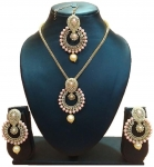 Party Wear Crystal Choker Traditional Jewellery Necklace Set