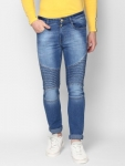 Only at Rs. 899 Urbano Fashion  Slim Men's Light Blue Jeans
