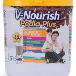 V-Nourish Pedia+ Chocolate Milk Mix White – 200 gms
