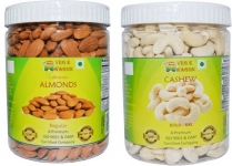 Veg E Wagon Almonds Regular & Cashew Bold (500 Each)