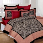 Vidhya Enterprises 190 TC Cotton Double Printed Bedsheet