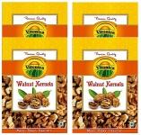 Vitonica Light Broken Walnuts Kernels 250g Pack of 4
