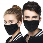Only at Rs. 398 Masks Germs & Dust Proof Anti Pollution Face Nose Cover set of 2