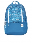 Wiki 2 Aztec Unisex Blue Graphic Backpack